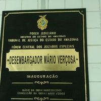 Photo taken at Fórum Desembargador Mário Verçosa by Glaucio N. on 11/7/2012