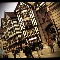 Photo taken at Liberty of London by Djaia on 10/20/2012