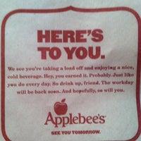 Photo taken at Applebee's by Darin R. on 12/27/2012