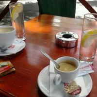Photo taken at Trafó Café by Gabriel I. on 5/19/2013