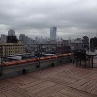 Photo taken at Meetup HQ Roof Deck by gomezcam on 6/12/2014
