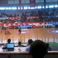 Photo taken at Sritex Arena by Hidayati N. on 3/27/2013