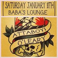 Photo taken at Baba's Lounge by Ryan M. on 1/10/2014