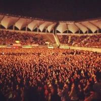 Photo taken at Estadio Bicentenario de La Florida by Constanza J. on 12/8/2012