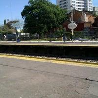 Photo taken at Estación Caballito [Línea Sarmiento] by Fabio G. on 4/14/2013
