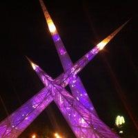 Photo taken at Praça Latif Sebba by Henrique A. on 3/15/2014