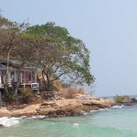 Photo taken at Sangthian Beach Resort by Aey on 1/23/2016