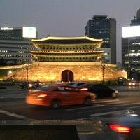 Photo taken at Sungnyemun by Smac on 6/24/2013