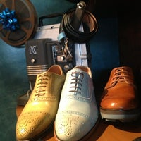 Photo taken at John Fluevog Shoes by Christopher K. on 12/30/2012