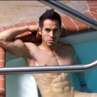 Photo taken at Camden Lofts Pool by Dallas G. on 6/30/2014