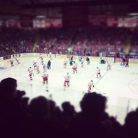 Photo taken at Lynah Rink by Emma S. on 11/17/2012