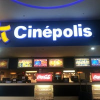 Photo taken at Cinépolis Multiplaza by Manuel B. on 11/2/2012