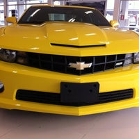 Photo taken at Uvel Veículos - Chevrolet by Matheus M. on 7/10/2013