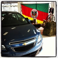 Photo taken at Uvel Veículos - Chevrolet by Matheus M. on 9/16/2013