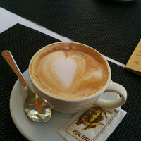 Photo taken at Cafetería Lisboa by Eduardo P. on 3/4/2016