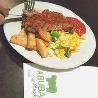 Photo taken at Abuba Steak by Johannes 何. on 9/24/2015