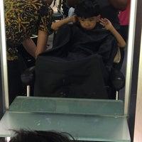 Photo taken at Infinity Hair Salon by Dazrene Irman D. on 5/29/2016