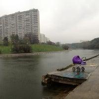 Photo taken at Пруд Запятая by КIrill N. on 5/4/2013
