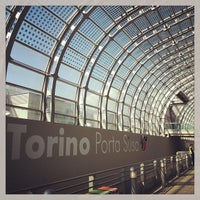 Photo taken at Stazione Torino Porta Susa by Luca R. on 4/12/2013