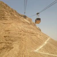 Photo taken at Masada by Serge P. on 6/9/2013