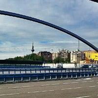 Photo taken at Puente de Ventas by LoPavlo on 5/7/2013