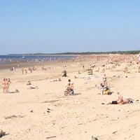 Снимок сделан в Ягринский пляж пользователем Rezeda 6/30/2013