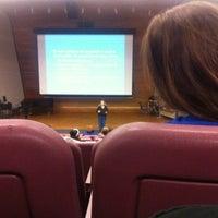 Photo taken at Psychology Auditorium by Cole S. on 11/9/2012