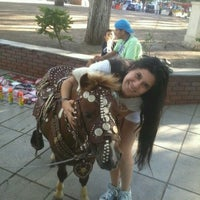 Photo taken at Plaza San Justo by Deisy S. on 1/26/2013