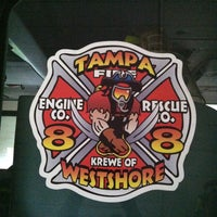 Photo taken at Tampa Fire Rescue Station 8 by Eric C. on 7/12/2013