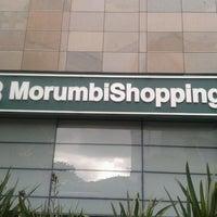 Photo taken at MorumbiShopping by Rodrigo F. on 1/19/2013