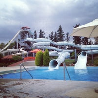 Photo taken at Fasouri Watermania Waterpark by Dasha G. on 5/10/2013