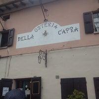 Photo taken at Osteria Della Capra Di Belli Romana E Angela by Giovanni D. on 9/29/2013