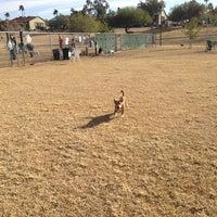 Photo taken at Echo Mountain Dog Park by Akemi on 12/23/2012