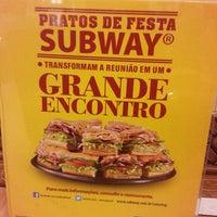 Photo taken at Subway by Edson Ferreira - P. on 12/16/2013