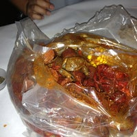 Photo taken at The Boiling Crab by Tinu on 3/7/2013
