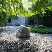 Photo taken at The Noguchi Museum by Ange S. on 6/30/2013