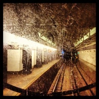 Photo taken at MTA Subway - High St/Brooklyn Bridge (A/C) by Evelyn C. on 12/12/2012