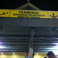 Photo taken at Arrival Terminal (MES) by Darwin W. on 11/11/2012