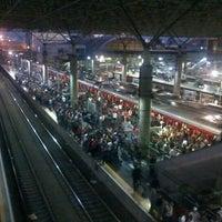 Photo taken at Estação Brás (CPTM) by Diego S. on 11/6/2012