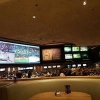 Photo taken at The Mirage Race & Sports Book by Charisma T. on 5/8/2016