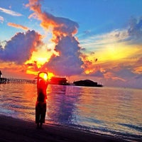 Photo taken at Derawan Beach Cafe & Cottage by damayanti s. on 2/16/2015