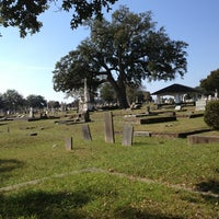 Photo taken at Magnolia Cemetery by Patrick H. on 1/24/2013