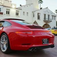 Photo taken at Beverly Hills Porsche Showroom by Ryan P. on 1/19/2013