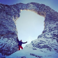 Photo taken at Tignes by Xavier E. on 1/17/2013
