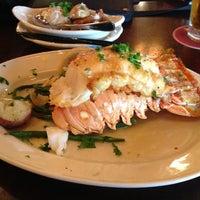 Photo taken at Pappadeaux Seafood Kitchen by Felipe B. on 6/2/2013