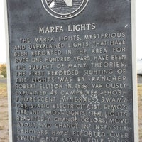Photo taken at Marfa Mystery Lights Viewing Area by Jhada A. on 10/18/2013