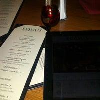 Photo taken at Equus Restaurant & Loungebar by Anya on 2/3/2013