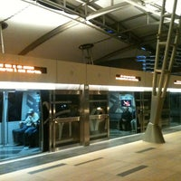 Photo taken at CityCenter Tram (Crystals) by Andrés M. on 2/27/2013