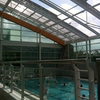 Photo taken at Aqua Vale Leisure Centre by Oliver D. on 5/31/2013