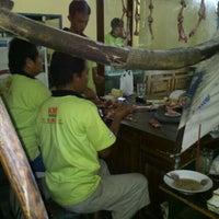 Photo taken at Sate Kambing Muda Pak Jupaini by Dwiki S. on 8/22/2012